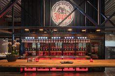 Jopen Proeflokaal Waarderpolder in Haarlem Beer Taps, Industrial Loft, Craft Beer, Hospitality, Interior Design, Vintage, Beer, Nest Design, Industrial Loft Apartment
