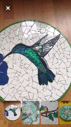 Mosaic Animals, Mosaic Birds, Mosaic Wall Art, Mosaic Diy, Mosaic Garden, Mosaic Crafts, Mosaic Projects, Tile Art, Mosaic Glass