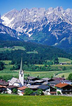 Ellmau Church, Kufstein, Austria