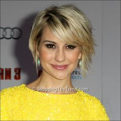 Chelsea Kane short hair - 'Iron Man 3' Hollywood Premiere
