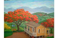 El Flanboyan - typical tree of Puerto Rico