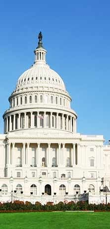 The US Capitol - Located 5 blocks from Holiday Inn Capitol hotel.