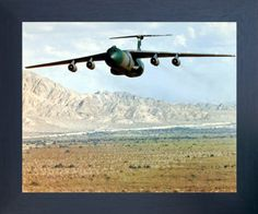This beautiful framed poster reflect your passion for nature and travel. This ultimate framed poster is a great pick to decorate your personal space. This Military Aircraft Lockheed C-141 Starlifter Cargo Airplane Aviation Picture Art Print Poster can easily add a new dimension to your room decor. Your guests will definitely compliment you for your excellent taste. Its wooden espresso frame accentuates the poster mild tone.