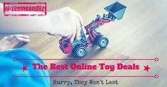 The Best Online Toy Deals can be found here! Updated Weekly. Top rated kids toys and the best learning toys for kids are featured.
