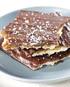 Homemade Toffee-Chocolate Matzah - Martha Stewart Recipes