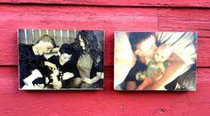 2 Custom 5x7 Wood Prints Your Photo on Wood by ZRCustomPrints