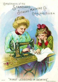 Рекламные карточки швейных машин XIX века.. Обсуждение на LiveInternet - Российский Сервис Онлайн-Дневников
