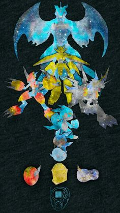 Veemon's Digievolutions, Crest of Courage, Friendship, and Miracles