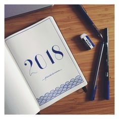 New Year ~ New Beginnings ~ New Bullet Journal Inspiration ~ 2018