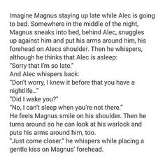 """You can't just up and murder me with Malec like this"" that's what the last person who pinned this said my reply? ""They just did and it killed me to don't worry"""