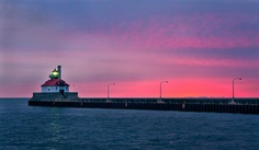 Canal Park Lighthouse- Duluth and I am lucky enough to live here <3