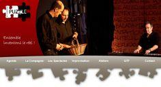 Site web réalisé pour le Théâtre PUZZLE : www.theatrepuzzle.com