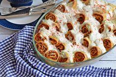 Isteni, tepsis húsos palacsinta | Rupáner-konyha Hungarian Recipes, Best Chicken Recipes, Apple Pie, Macaroni And Cheese, Paleo, Good Food, Dinner Recipes, Goodies, Food And Drink