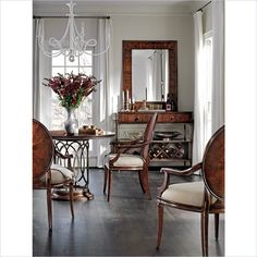 Avalon Heights-Neo Deco Pedestal Table in Chelsea - 193-11-30
