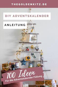 Den Adventskalender füllen und somit für 24 besondere Überraschungen im Dezember sorgen. Ich gebe euch 100 Ideen zum Befüllen. Diy Inspiration, Diy Pins, German, Artisan, Diy Projects, Invitations, Interior, Handmade, Ideas