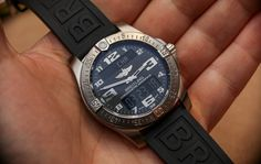 Breitling Aerospace Evo Night Mission Watch Hands-On Hands-On