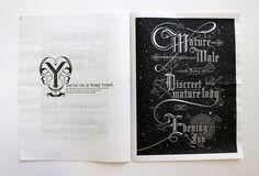 Fuck Yeah, Book Arts! (mcmillianfurlow: Sam Edwards' typography book...)
