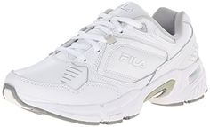 Fila Womens Memory Comfort Training Shoe WhiteWhiteMetallic Silver 85 M US * Want additional info? Click on the image.(This is an Amazon affiliate link and I receive a commission for the sales)
