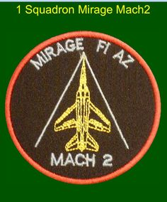 1 Squadron, South African Air Force. Mach 2