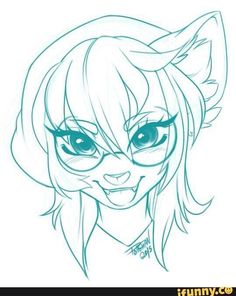 Hello this is Pollo-Chan! I am a furry/anthro artist. Kawaii Drawings, Cute Drawings, Drawing Sketches, Art Plastic, Furry Oc, Furry Girls, Anime Furry, Furry Drawing, Anthro Furry