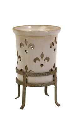 Aniela Small Lantern with Metal Stand