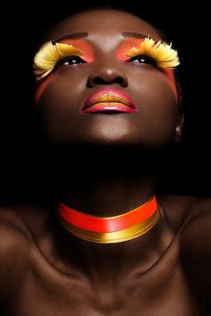 Don't be afraid to try a dramatic look- book your next makeup appointment at… Foto Top, Pelo Natural, Make Up Art, Dramatic Look, Fantasy Makeup, Creative Makeup, Beauty Make Up, Face Art, Beauty Photography