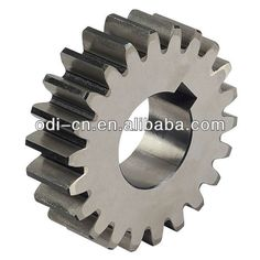 Factory Price of CR Spur Gear, Straight Spur Gear printer gear $0.01~$0.10