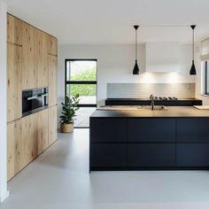 Interior Modern, Kitchen Interior, New Kitchen, Kitchen Tops, Modern Luxury, Interior Design, Gold Kitchen, French Kitchen, Luxury Kitchens