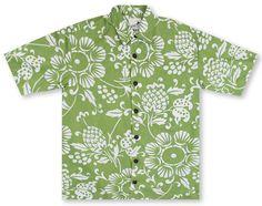 Kahala Hawaiian Shirts From Aloha Shirt Shop | Kahala Dukes Pareo | KA-38