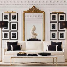 Interior Design - Home Staging - Luxus Interiors Home Living Room, Living Room Designs, Living Room Decor, Bedroom Decor, 60s Bedroom, Classic Interior, Home Interior Design, Interior Architecture, Living Room Inspiration