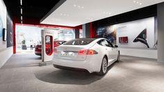 Teslas neuer Showroom | Telsa Store Wien