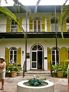 Hemingway House, Key West, Florida-Been There! Key West Florida, Florida Usa, Florida Travel, Florida Keys, Florida Girl, Visit Florida, Hemingway House, Hemingway Cats, Oh The Places You'll Go