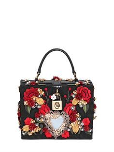 EMBELLISHED BROCADE DOLCE BAG Dolce & Gabbana