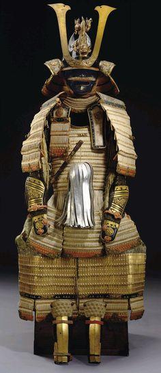 A DAIMO OF THE TOKUGAWA SHOGUN FAMILY........18TH CENTURY.........EDO PERIOD.......SOURCE EXPLOTINGROCKS.TUMBLR.COM............