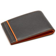 RFID Slim Front Pocket Wallet - Black