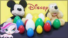 Disney Surprise Eggs ❤ FROZEN - Princess Elsa ❤ Toy Story 3 ❤ DORA ❤ Lit...