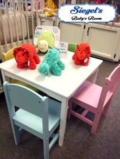 Table And Chair Sets, Nursery Furniture, Kidsroom, Baby Room, Playroom, New  Baby Products, Tea Time, Dining Table, Bedroom Kids