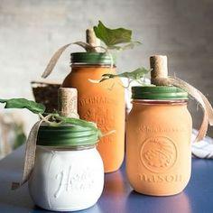 50 DIY Mason Jar Fall Crafts