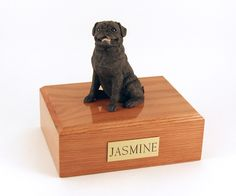 Pug Figurine Urn