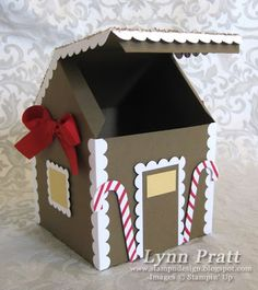 Gingerbread House Gift Box & Card