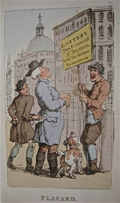 "Thomas Rowlandson's ""Characteristic Series of the Lower Orders"" from 1820  (Notice the pickpocket)"