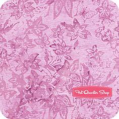 Purple Passion Batiks Lotus Floral Tapestry Yardage SKU# K2446-459 - Fat Quarter Shop