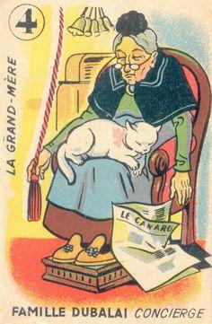 Vintage playing card.via