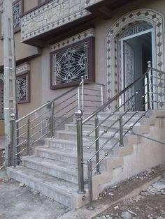 Balcony Glass Design, Balcony Railing Design, Glass Railing, Staircase Railings, Staircase Design, Steel Stairs Design, Bird House Plans Free, Engineering Works, Joker Images