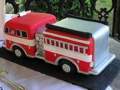 Fire Truck Cake 2 | Flickr - Photo Sharing!