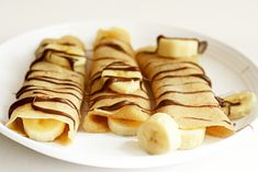 crepes nutella con bananas :p