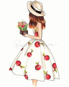 24 ideas drawing ideas doodles girly for 2019 Source by idea drawing Girly Drawings, Pencil Art Drawings, Easy Drawings, Drawing Sketches, Drawing Ideas, Fashion Design Drawings, Fashion Sketches, Cherry Dress, Dress Drawing