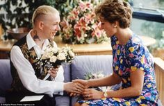 In July 1992, Princess Diana visited the London Lighthouse AIDS centre, where she met and shook hands with a patient there, William Drake. In the early 1990s, hysteria and prejudice surrounding HIV and AIDS was at its peak. By simply holding the hand of someone with HIV/AIDS, the princess was credited with changing the attitude of millions of people towards the condition