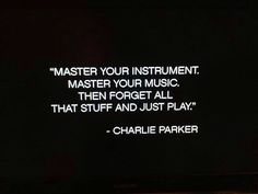 consider this • charlie parker