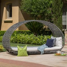 Patio Daybed, Outdoor Daybed, Outdoor Sofas, Rattan Daybed, Porch Bed, Porch Swings, Patio Bench, Outdoor Curtains, Outdoor Pergola